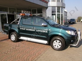 Toyota Hilux - Straż Ochrony Lotniska