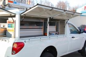Zabudowy specjalistyczne - Mitsubishi L200
